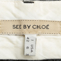 See by Chloé trousers in black