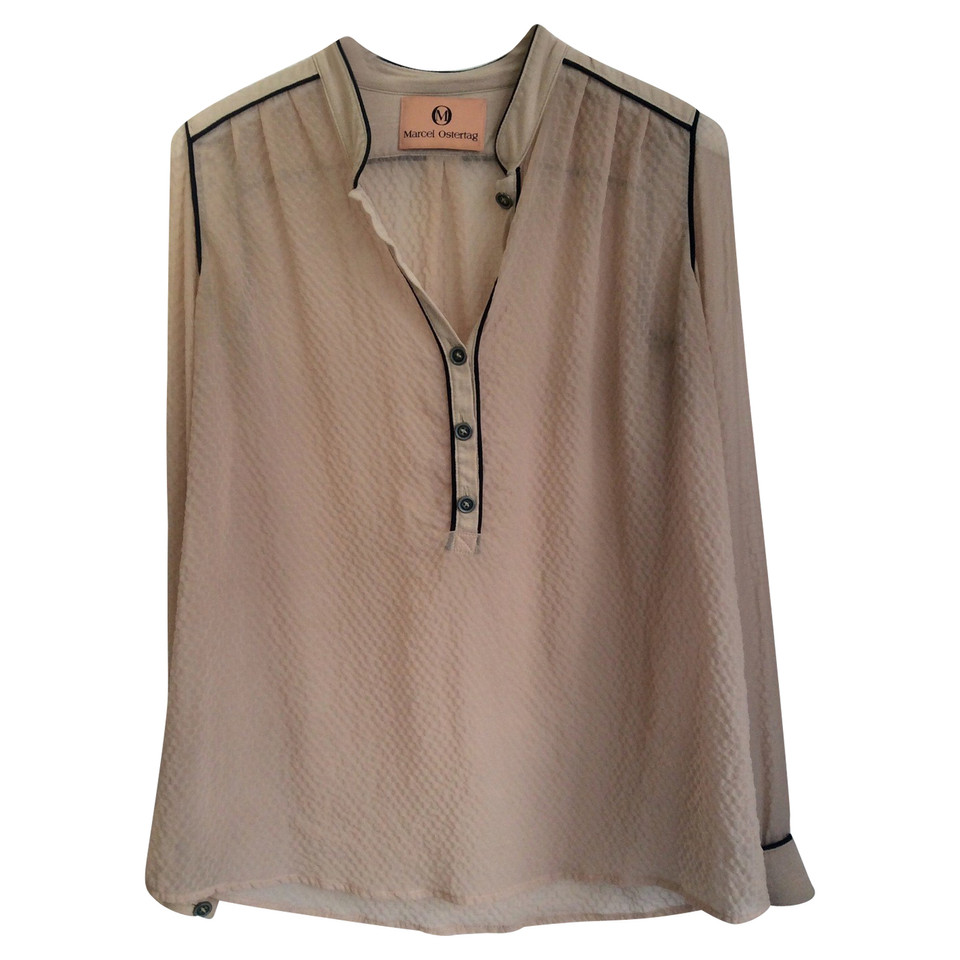 Marcel Ostertag Blouse in cream