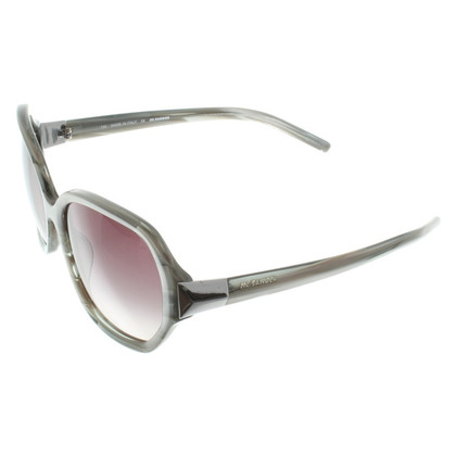 Jil Sander Sonnenbrille in Grau/Silber
