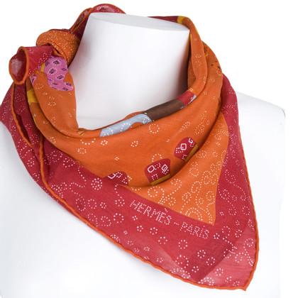 Hermès Nicki panno cashmere/seta