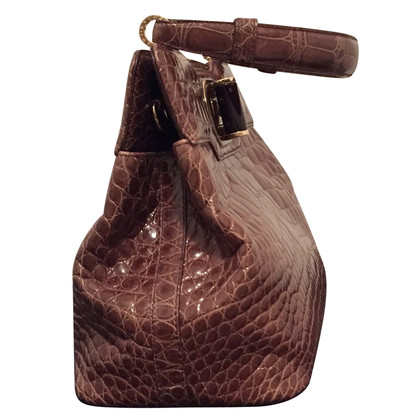 Bulgari alligator sac à main