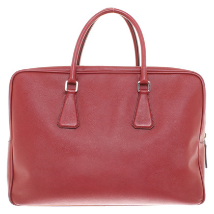 Prada Travel bag in red