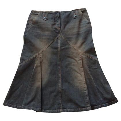 Max Mara Gonna  jeans marrone