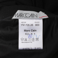 Marc Cain Knitted skirt in black / red