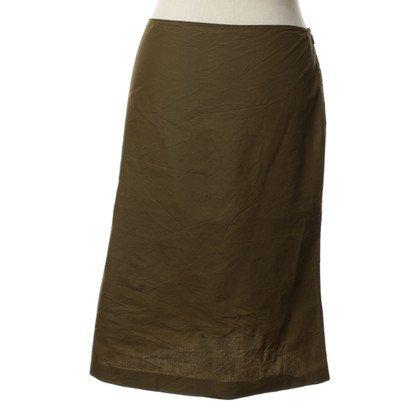 Miu Miu skirt in olive green
