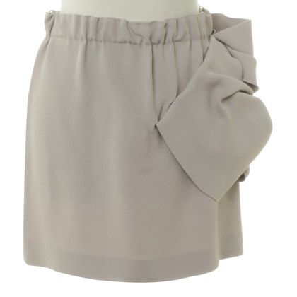 Miu Miu skirt with drapery