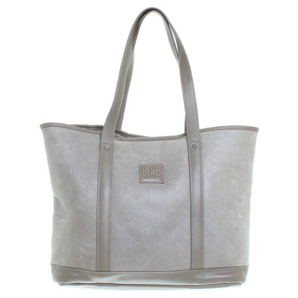 Longchamp Shopper made of lamb fur