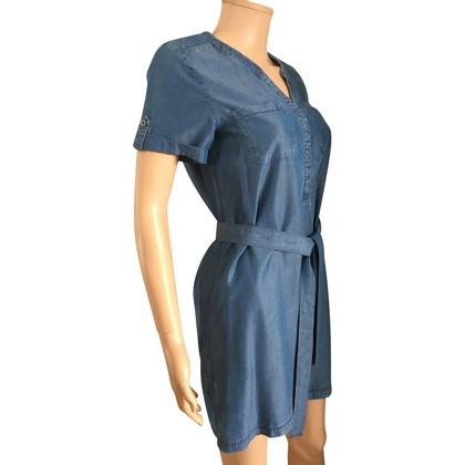 Comptoir des Cotonniers blauwe jurk