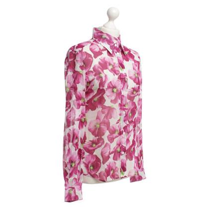 Dolce & Gabbana Camicia con stampa floreale