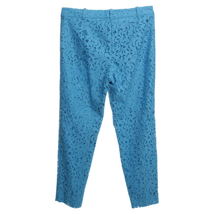 Marc Cain Top trousers in blue