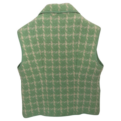 Chanel Vest in mint Green
