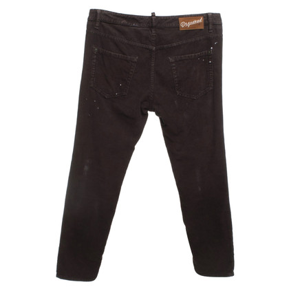 Dsquared2 Cordhose in Braun