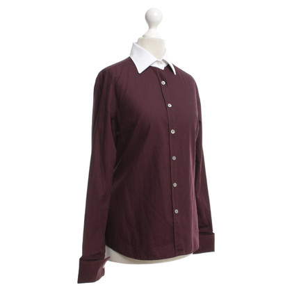 Paul & Joe Blouse with contrast collar