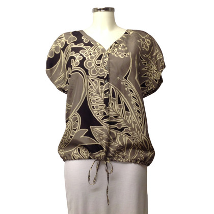 Hartford Silk blouse with patterns