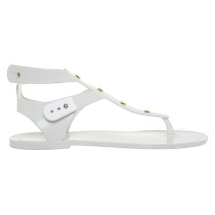 Moschino Love Sandalen in Weiß