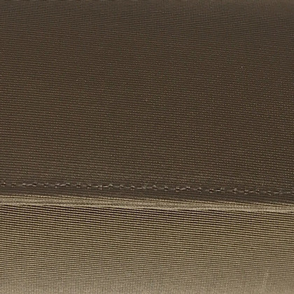 L.K. Bennett Brown clutch linnen