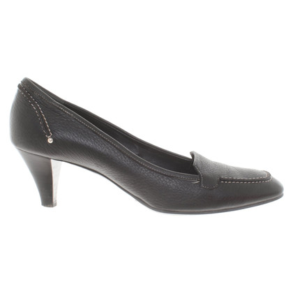 Bally Black pumps leather