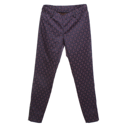 Bogner Patterned trousers in tricolor
