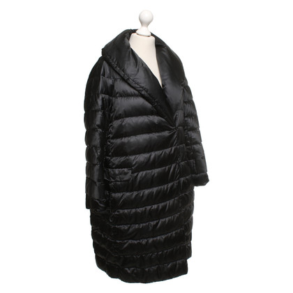 Max Mara Dons jas in zwart
