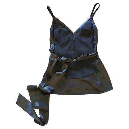 Dolce & Gabbana Zwarte zijden top
