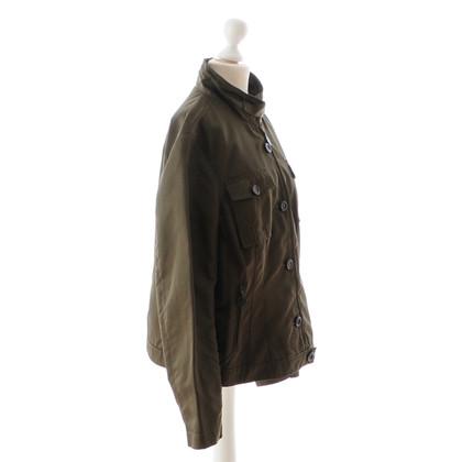 René Lezard Olive jacket