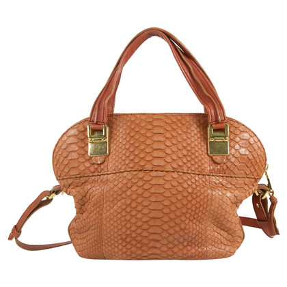 Chloé Snake leather handbag
