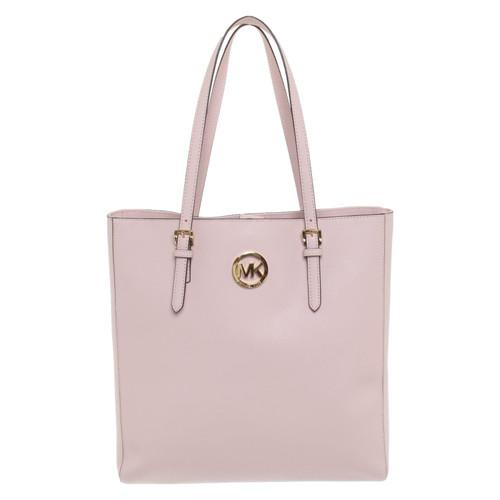 65f580a24ef4 Michael Kors Handbag Leather in Pink - Second Hand Michael Kors ...