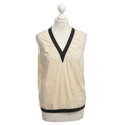 Marni for H&M top in Cream / Black