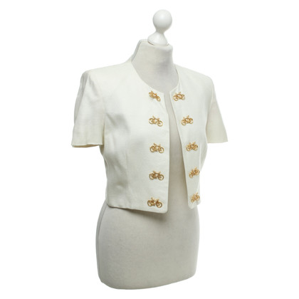 Moschino Cheap and Chic Short jacket in cream