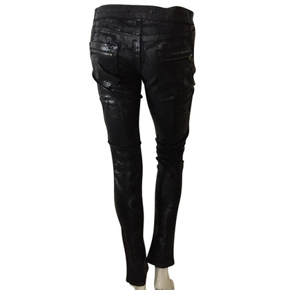 Pierre Balmain Jeans with snake print