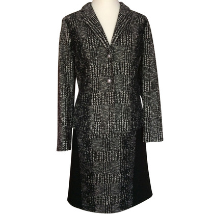 Marc Cain Costume in black / white