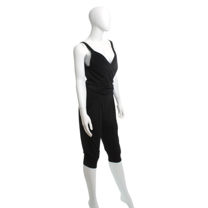 Moschino Love Short jumpsuit in black