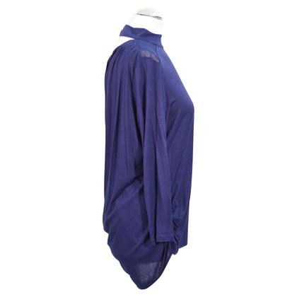 Karen Millen top in dark blue