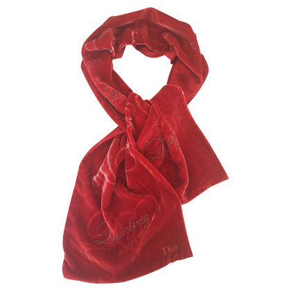 Christian Dior Velvet sjaal