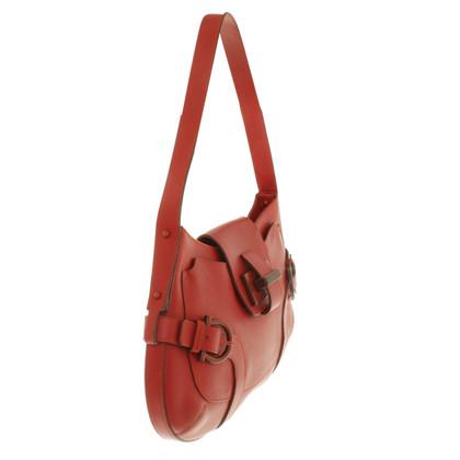 Salvatore Ferragamo Handtasche in Rot
