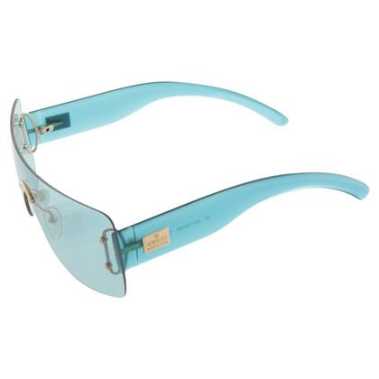 Gucci Monoshade blauwe zonnebril