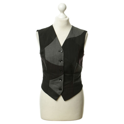 Escada Vest in the pattern mix