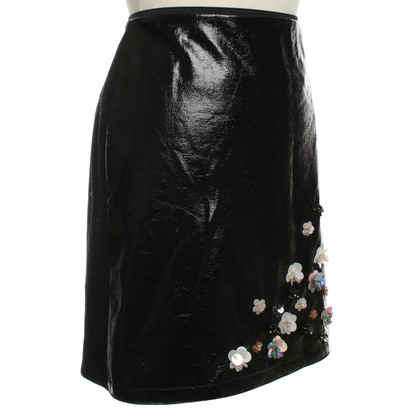 Marc Cain skirt with lacquer coating