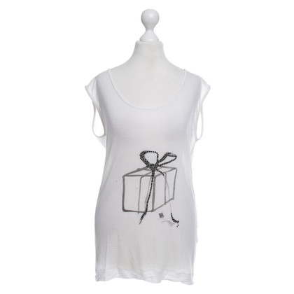 By Malene Birger Top in bianco