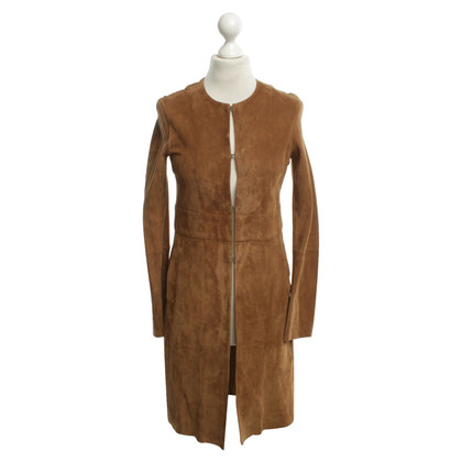 Theory Coat in brown