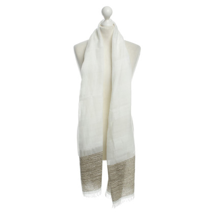 René Lezard Scarf with looser Web structure