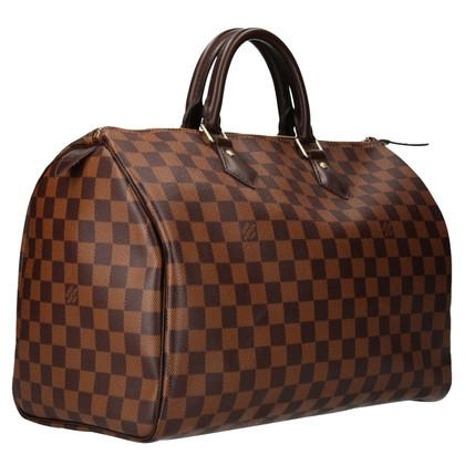 "Louis Vuitton ""Speedy 35 Damier Ebene Canvas"""