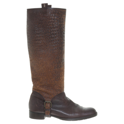 Henry Beguelin Boots with leather