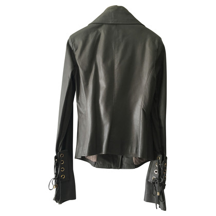 Elisabetta Franchi Leather Jacket