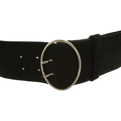 Prada Suede belt in black