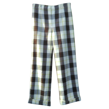 Burberry trousers with checked pattern