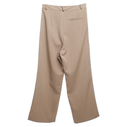 Ganni Pantaloni larghi in Beige