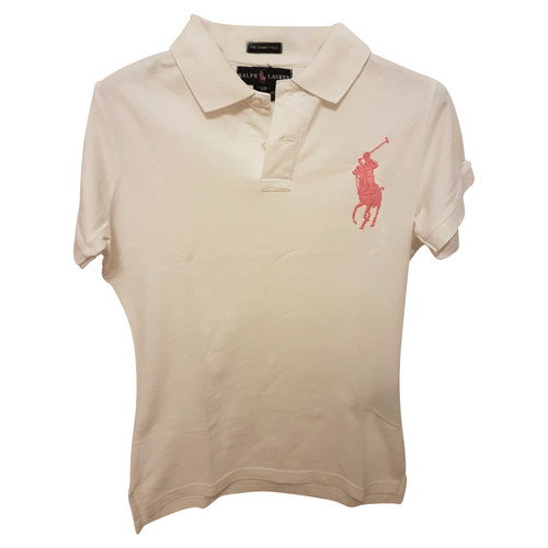 5eec2cc98 Polo Ralph Lauren Knitwear Cotton in White - Second Hand Polo Ralph ...