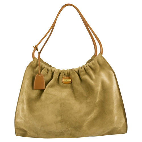 Gucci Suede shoulder bag - Second Hand Gucci Suede shoulder bag buy ... 5d5466acb7e4b