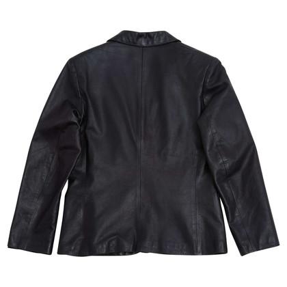 Hermès leather jacket